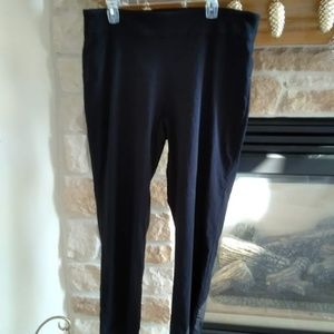 Dana Buchman Pull on Pants - Black size XL
